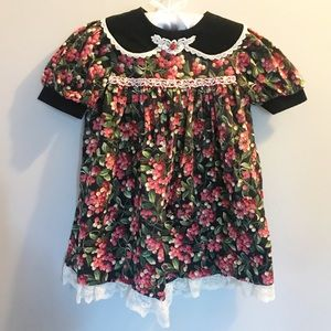 Other - Vintage Piccolo 4T Christmas dress holly berries